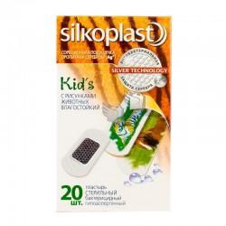 Лейкопластырь бактерицидный, Силкопласт №20 кидс