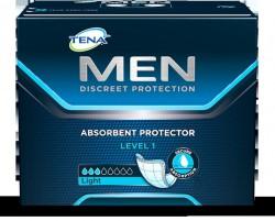Прокладки при недержании для мужчин, Тена №12 Мен левел 1